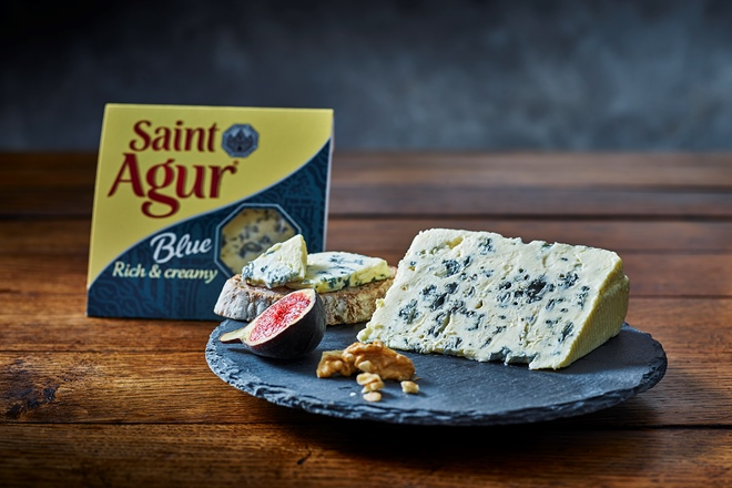 Saint Agur: blue gold from the Auvergne