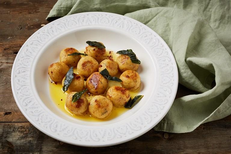 Gnudi Ricetta In English.Saint Agur Gnudi Recipe Great British Chefs