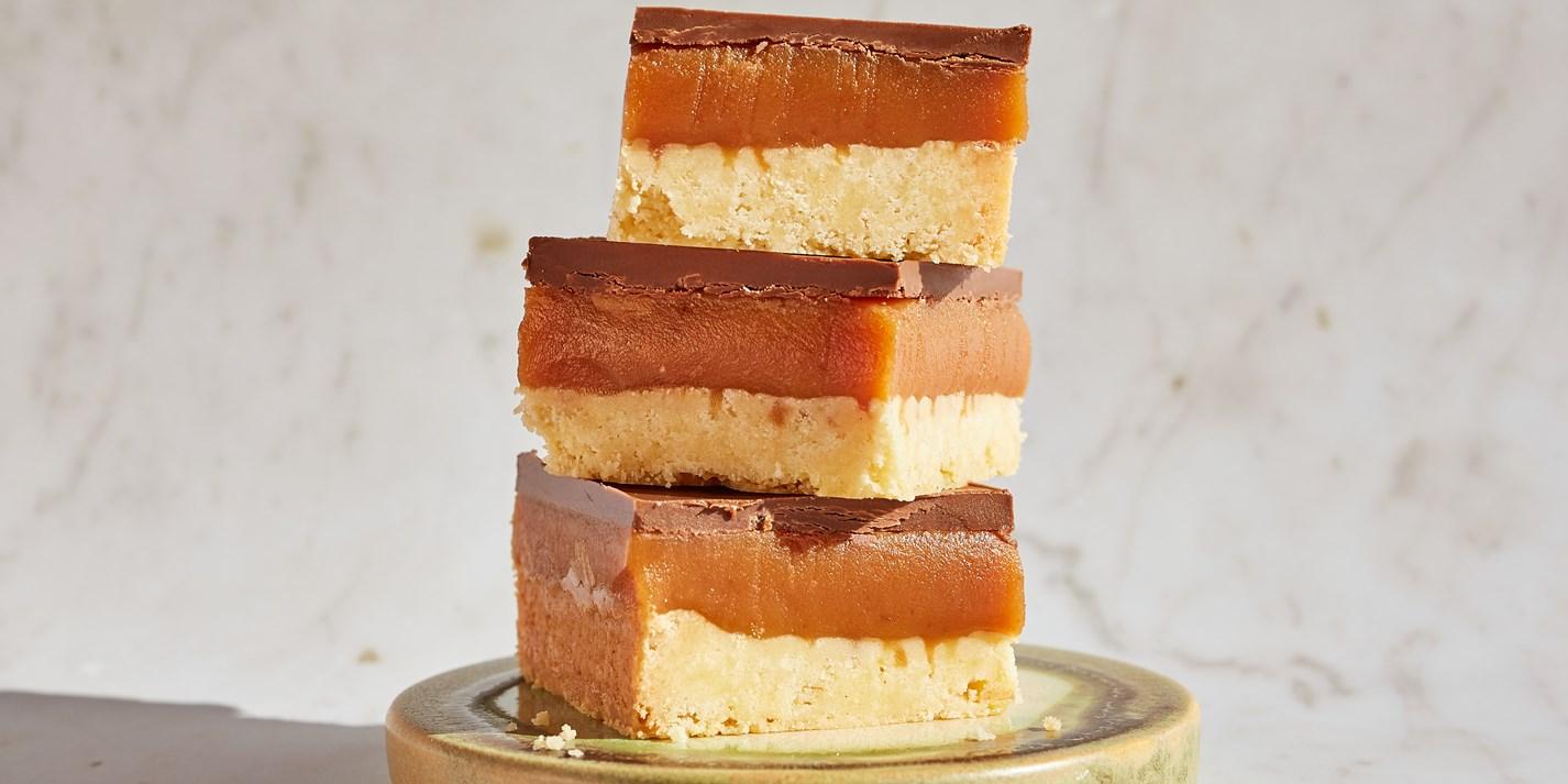 Gluten-Free Millionaire's Shortbread Recipe - Great British Chefs