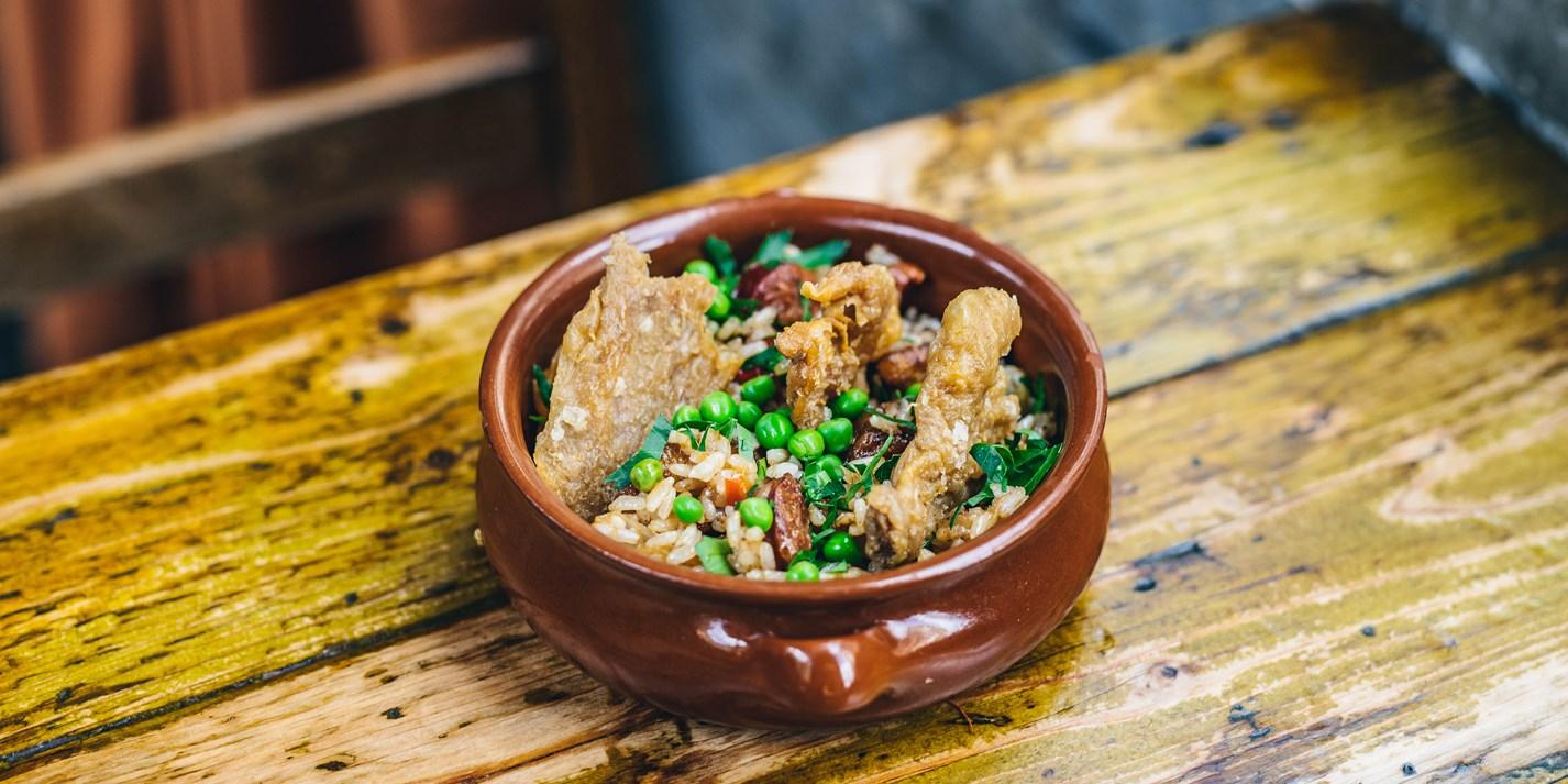 Portuguese African Rice Recipe - Great British Chefs