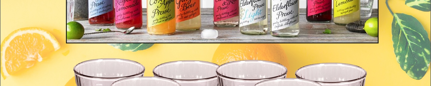 Win one of two Belvoir cordials mixed cases with a (brand) glassware set.