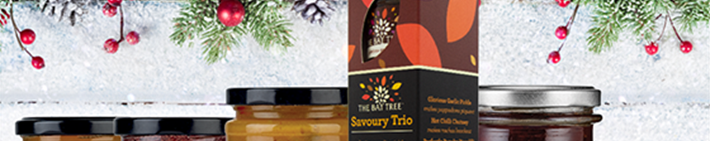 Win a selection of The Bay Tree Christmas essentials