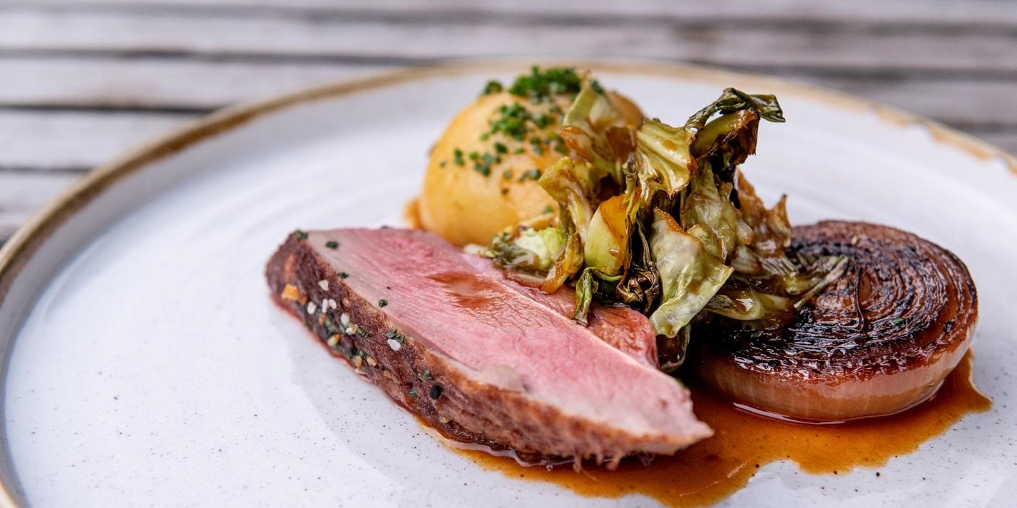 Duck with Sauerkraut Potato Dumplings Recipe - Great British Chefs