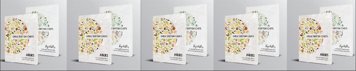 Win one of five Great British Chefs book bundles