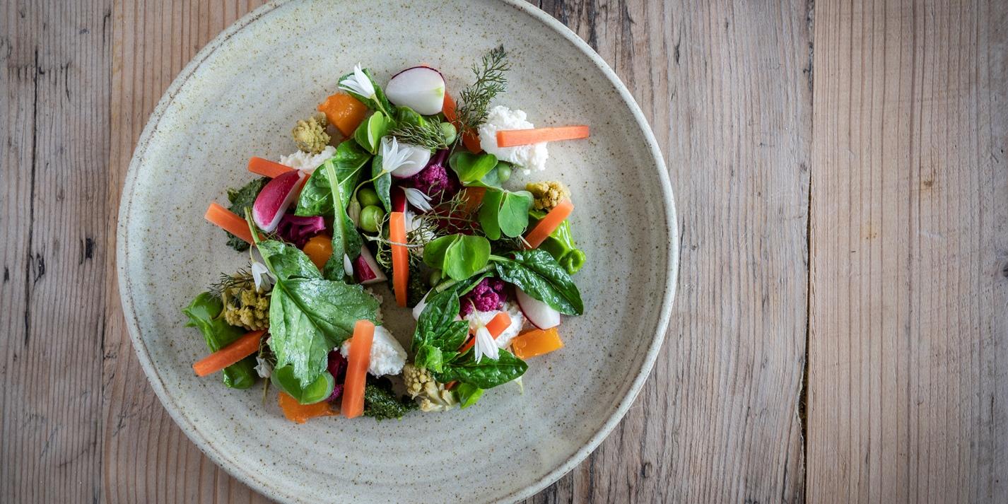 The Smallholding's Farm Salad Recipe - Great British Chefs