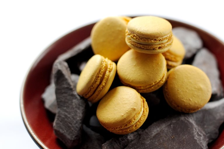 Passion Fruit Macarons Great British Chefs