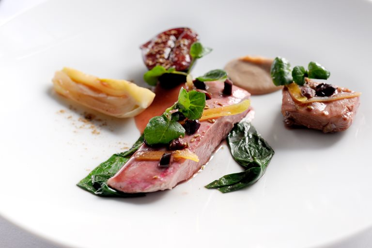 duck breast with fig recipe great british chefs. Black Bedroom Furniture Sets. Home Design Ideas