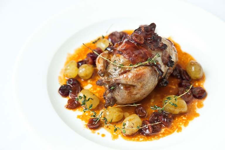 Christmas Quail Recipe Great British Chefs
