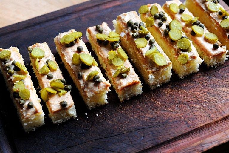 Foie gras canap recipe great british chefs for Canape foie gras